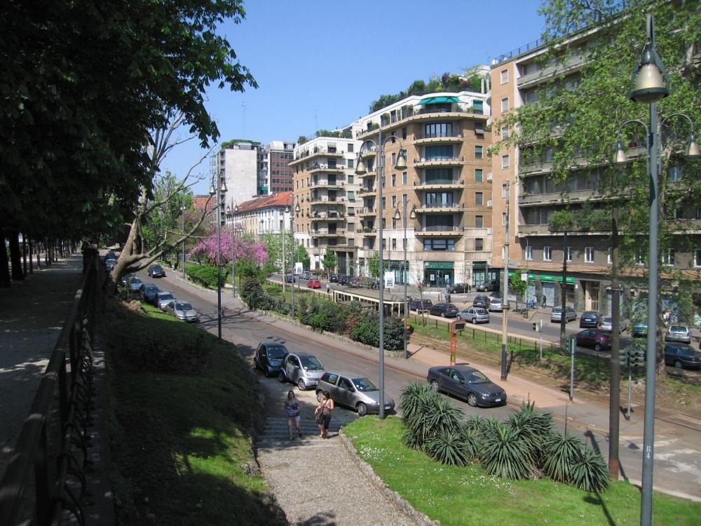 Улицы милана фото