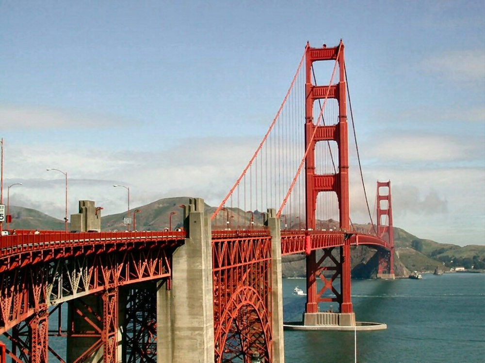 Красный мост где он находится