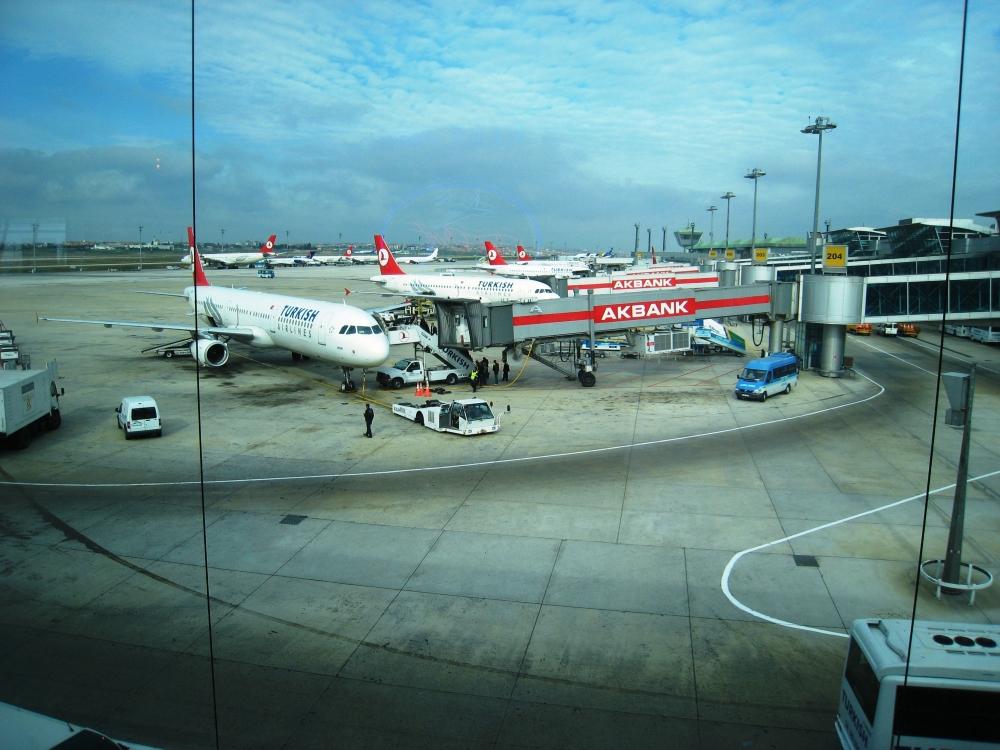 Стамбул - порт скольких морей? фотографии.  Ататюрк аэропорт фото. г.Стамбул.  Страны мира.